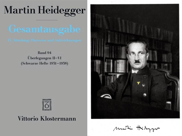 los Cuadernos negros de Martin Heidegger