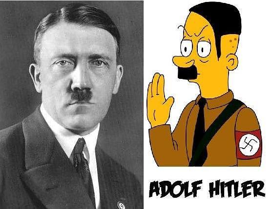 hitler=simpson